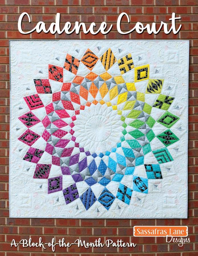 Cadence Court quilt sewing pattern from Sassafras Lane Designs