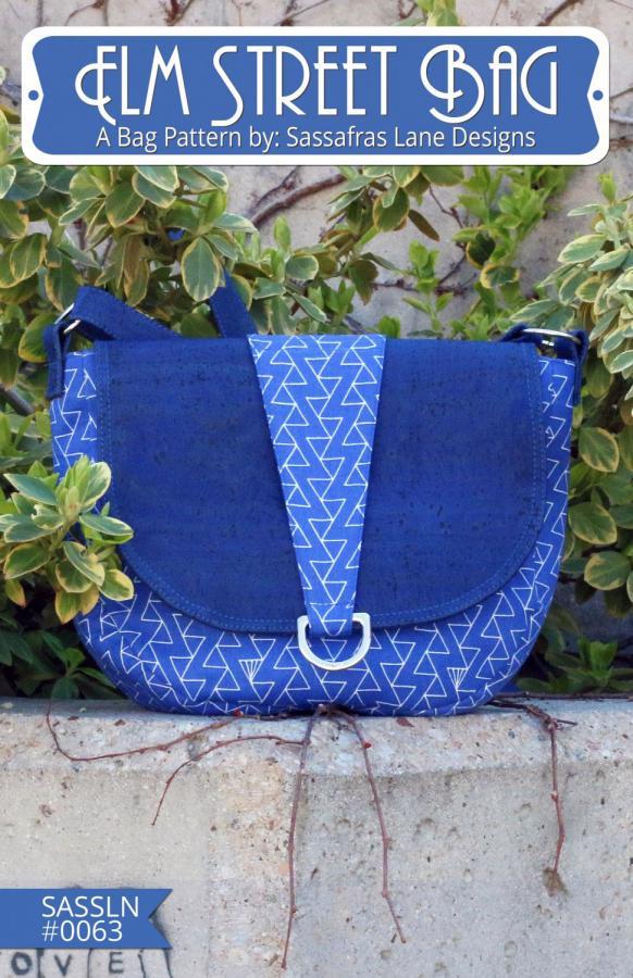 Elm Street Bag sewing pattern from Sassafras Lane Designs