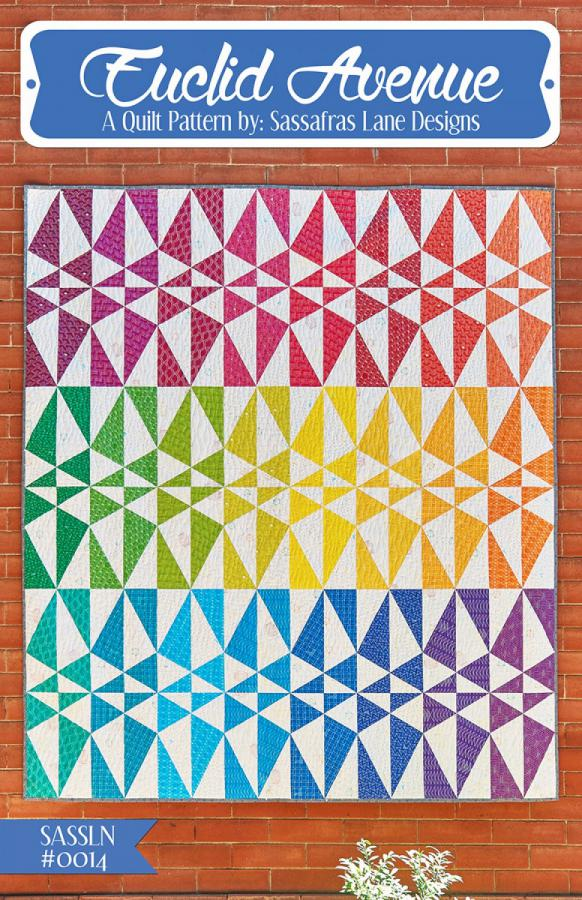 Euclid Avenue quilt sewing pattern from Sassafras Lane Designs