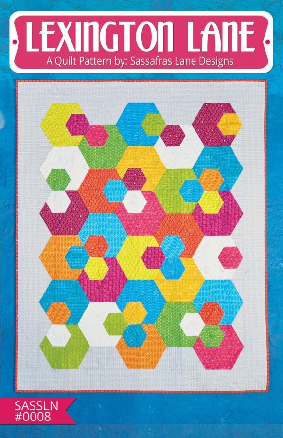 Lexington Lane quilt sewing pattern from Sassafras Lane Designs