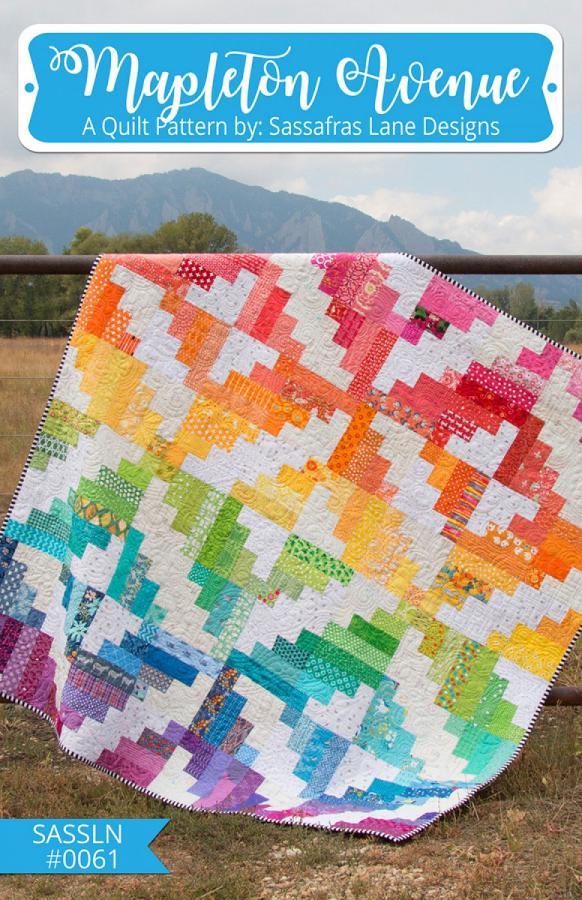 Mapleton Aveune quilt sewing pattern from Sassafras Lane Designs