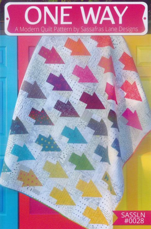 One Way quilt sewing pattern from Sassafras Lane Designs
