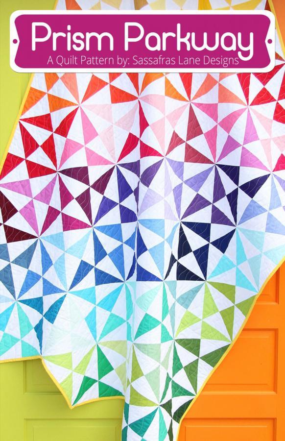 Prism Parkway quilt sewing pattern from Sassafras Lane Designs
