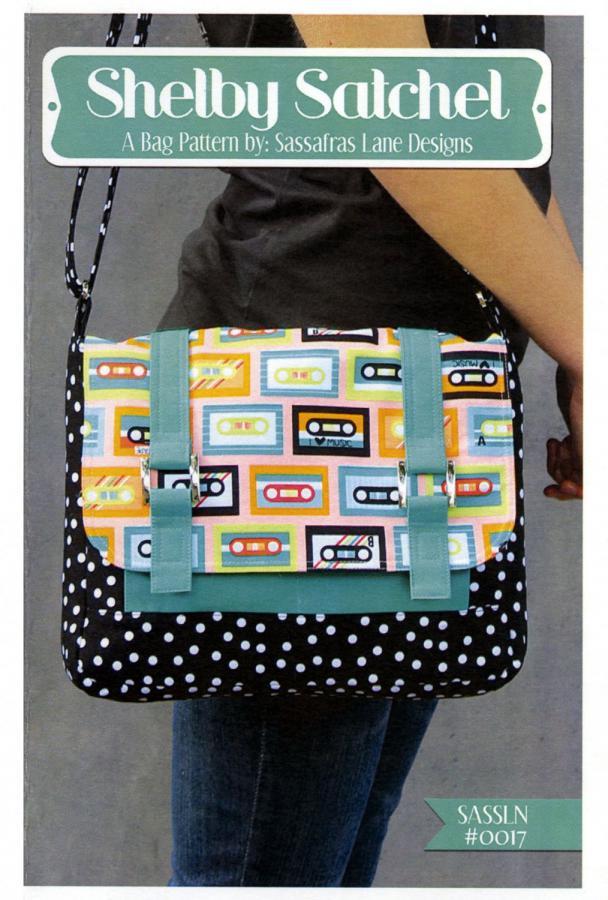 Shelby Satchel sewing pattern from Sassafras Lane Designs
