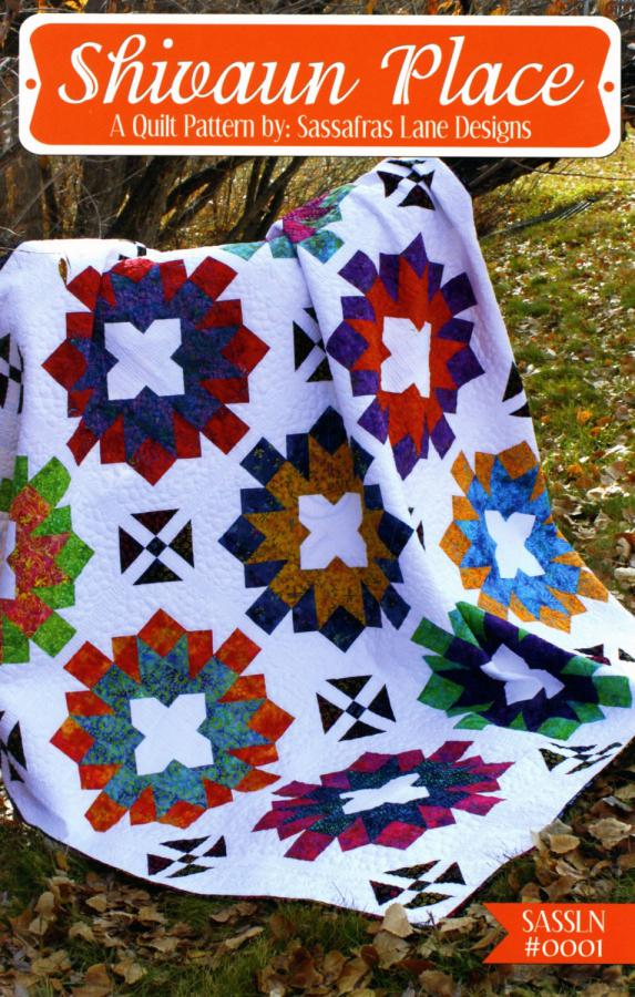Shivaun Place quilt sewing pattern from Sassafras Lane Designs