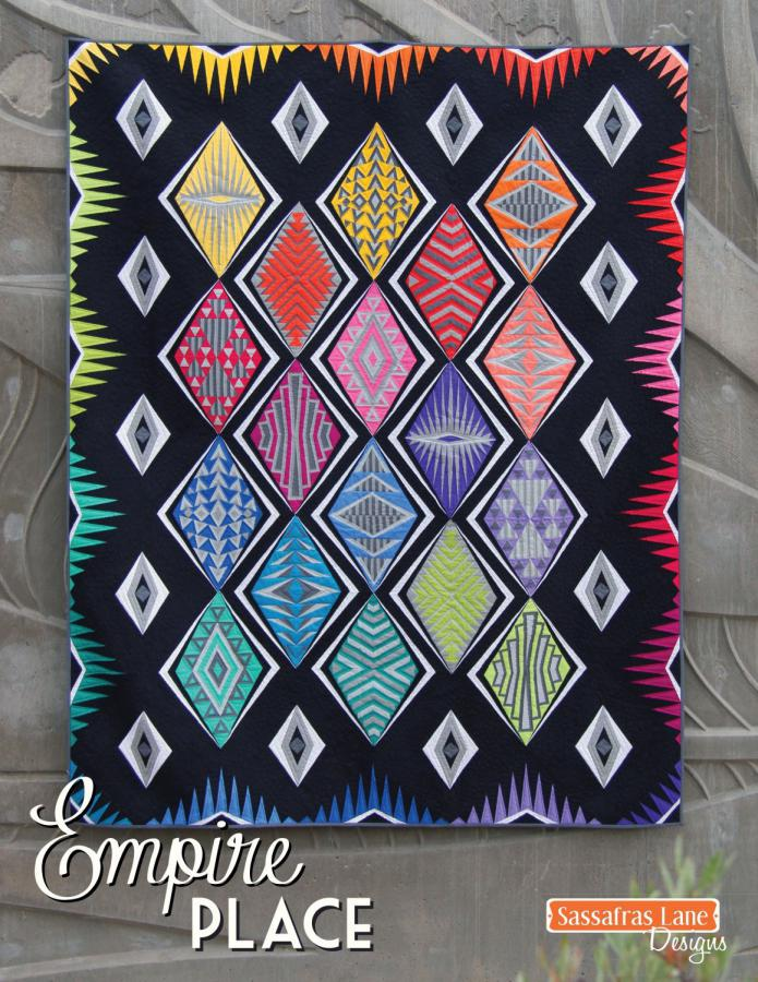 Empire Place quilt sewing pattern from Sassafras Lane Designs