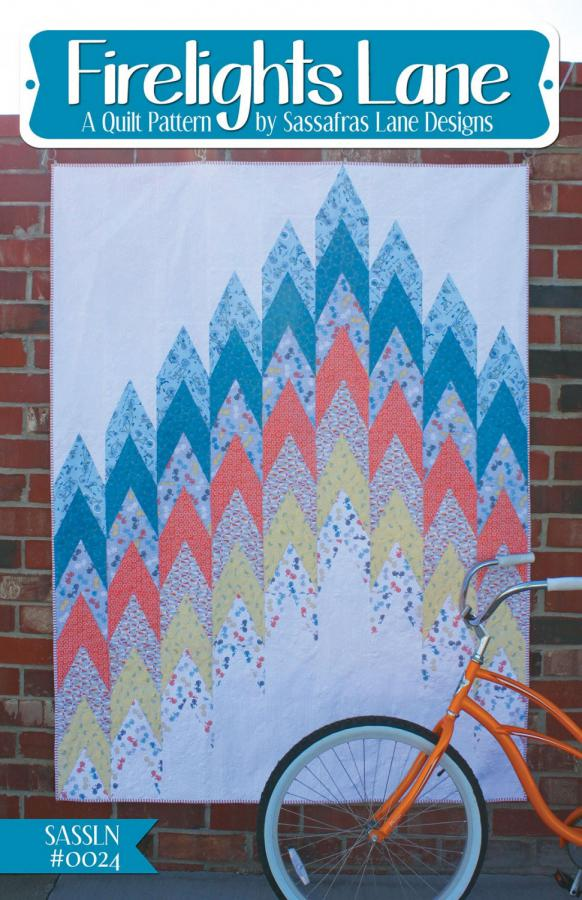 Firelights Lane quilt sewing pattern from Sassafras Lane Designs
