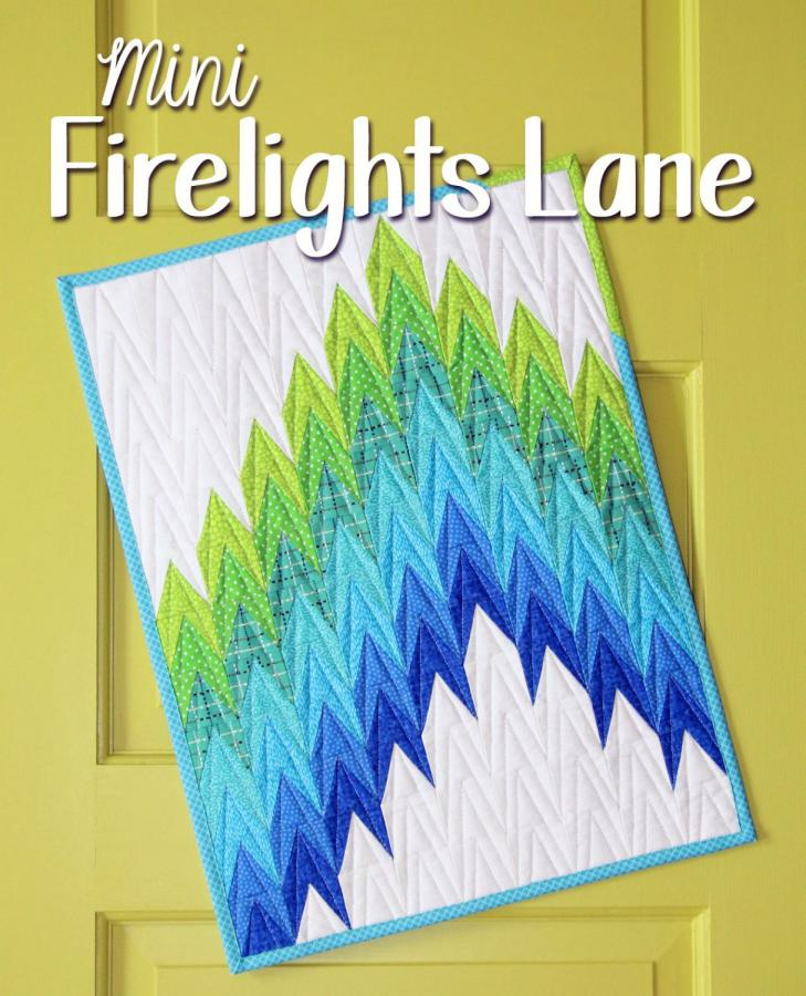 Mini Firelights Lane sewing pattern from Sassafras Lane Designs