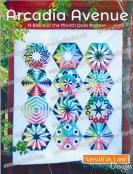 Arcadia Avenue - Block of the Month quilt sewing pattern book from Sassafras Lane Designs