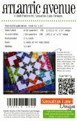 Atlantic Avenue quilt sewing pattern from Sassafras Lane Designs 1