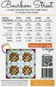 Bourbon Street quilt sewing pattern from Sassafras Lane Designs 1