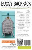 Bugsy Backpack sewing pattern Sassafras Lane Designs 1