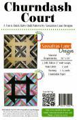 Churndash Court quilt sewing pattern from Sassafras Lane Designs 1