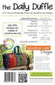 The Daily Duffle sewing pattern from Sassafras Lane Designs 1