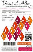 Diamond Alley quilt sewing pattern from Sassafras Lane Designs 1