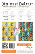 Diamond Detour quilt sewing pattern from Sassafras Lane Designs 1