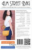 Elm Street Bag sewing pattern from Sassafras Lane Designs 1