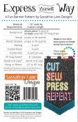 Express Yourself Way sewing pattern from Sassafras Lane Designs 1