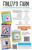 Finley's Farm quilt sewing pattern from Sassafras Lane Designs 1