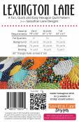 Lexington Lane quilt sewing pattern from Sassafras Lane Designs 1