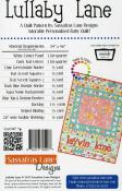 Lullaby Lane quilt sewing pattern from Sassafras Lane Designs 1