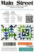 Main Street quilt sewing pattern from Sassafras Lane Designs 1