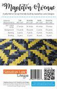 Mapleton Aveune quilt sewing pattern from Sassafras Lane Designs 1