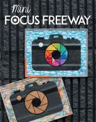 Mini Focus Freeway quilt sewing pattern from Sassafras Lane Designs