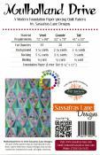 Mulholland Drive quilt sewing pattern from Sassafras Lane Designs 1