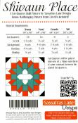 Shivaun Place quilt sewing pattern from Sassafras Lane Designs 1