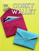 The Quick Corky Wallet sewing pattern from Sassafras Lane Designs