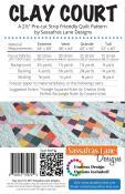 Clay Court quilt sewing pattern from Sassafras Lane Designs 1