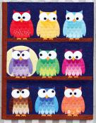 Hootsville Row quilt sewing pattern from Sassafras Lane Designs 2