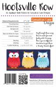 Hootsville Row quilt sewing pattern from Sassafras Lane Designs 1