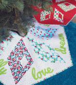 Kringle Crossing Tree Skirt-Table Runner sewing pattern from Sassafras Lane Designs 2