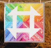 Mini Churndash Court quilt sewing pattern from Sassafras Lane Designs 2
