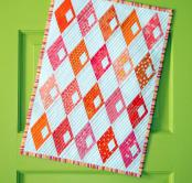 Mini Diamond Detour quilt sewing pattern from Sassafras Lane Designs 2