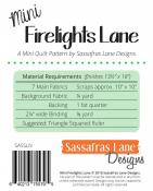 Mini Firelights Lane sewing pattern from Sassafras Lane Designs 1
