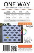 One Way quilt sewing pattern from Sassafras Lane Designs 1