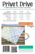 Privet Drive quilt sewing pattern from Sassafras Lane Designs 1