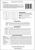 Free Range Slacks sewing pattern from Sew House Seven 1