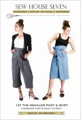INVENTORY REDUCTION...Nehalem Pant and Skirt sewing pattern from Sew House Seven
