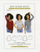 Tabor V Neck Shirt sewing pattern from Sew House Seven