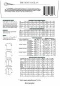 INVENTORY REDUCTION...The Remy Raglan Top sewing pattern from Sew House Seven 1