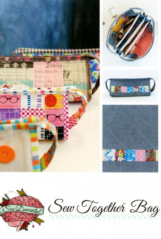 Sew Together Bag sewing pattern by Sew Demented