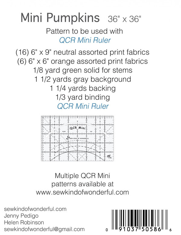 Mini-Pumpkins-quilt-sewing-pattern-sew-kind-of-wonderful-back