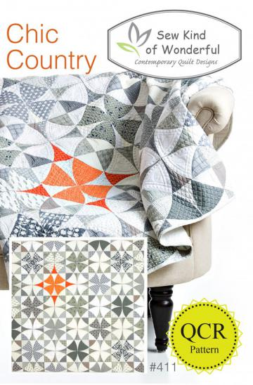 Chic Country quilt sewing pattern from Sew Kind of Wonderful