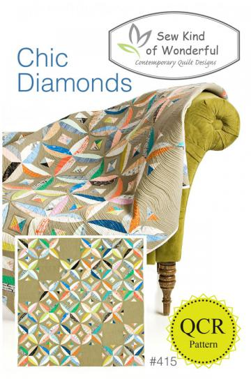 Chic-Diamonds-quilt-sewing-pattern-sew-kind-of-wonderful-front