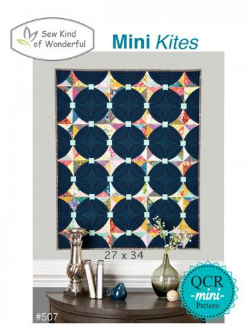 Mini Kites quilt sewing pattern from Sew Kind of Wonderful