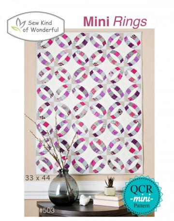 Mini-Rings-quilt-sewing-pattern-sew-kind-of-wonderful-front